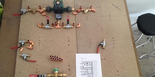 Presentación de parte del circuito