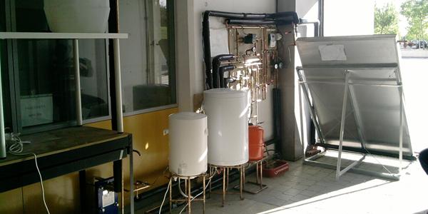 Instalación completa operativa ACS y piscina